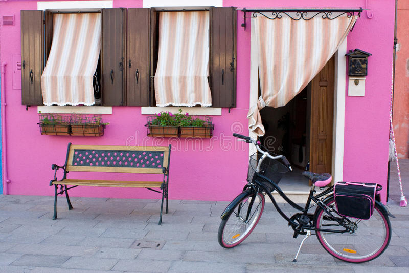 kolorowy dom fotografia royalty free