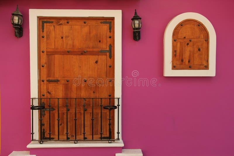 Kolorowy dom zdjęcie royalty free