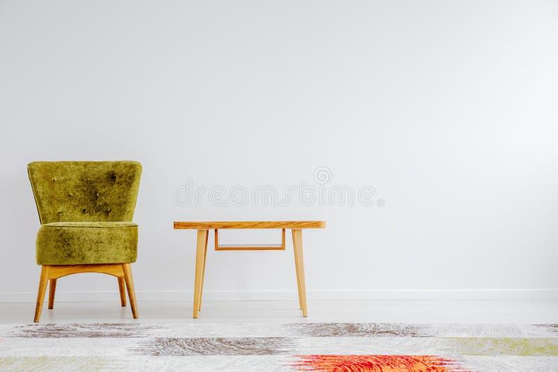 Kolorowy dywan w pokoju obrazy royalty free