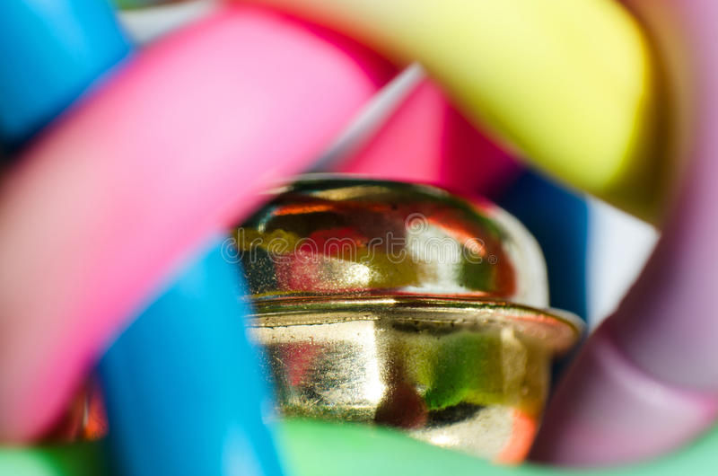 Kolorowy dzwon obraz stock