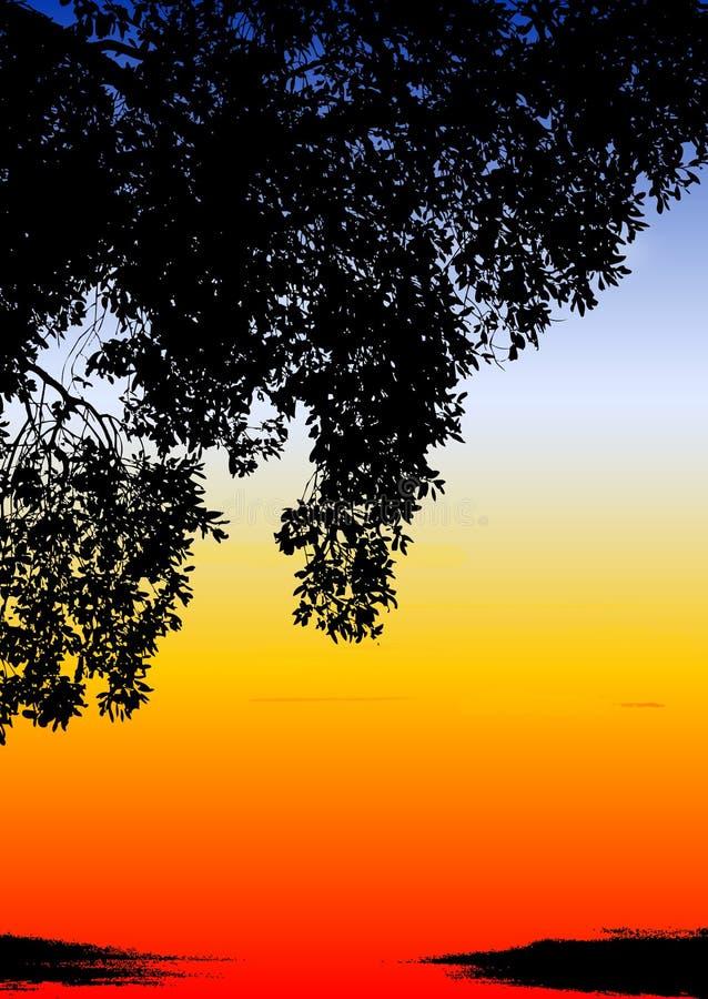kolorowy etnicznych słońca ilustracja wektor