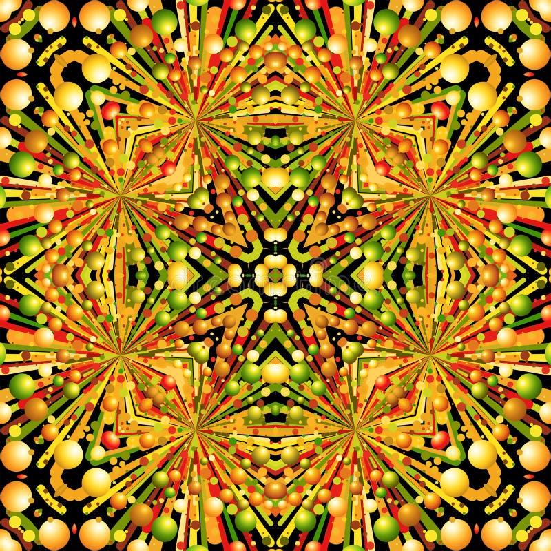 Kolorowy geometryczny deseniowy projekt zdjęcia royalty free