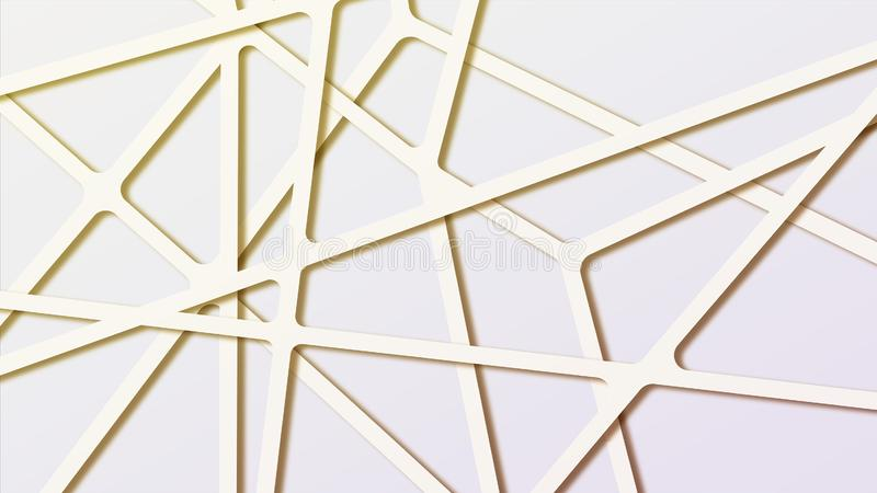Kolorowy gradientowy abstrakcjonistyczny cząsteczkowy poligonalny tło z złączonymi liniami zdjęcie stock
