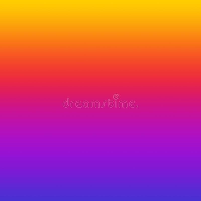 Kolorowy Gradientowy Ombre Jaskrawy Wielo- Barwiony tło royalty ilustracja