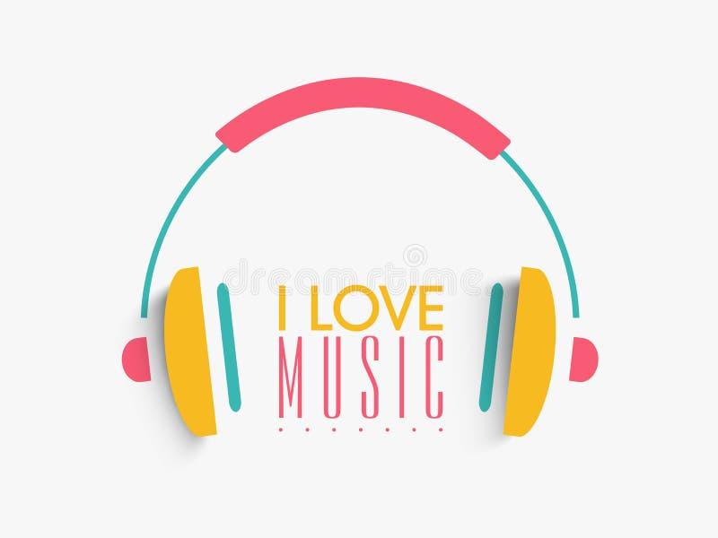 Download Kolorowy Hełmofon Dla Muzycznego Pojęcia Ilustracji - Ilustracja złożonej z klub, eventide: 53777759