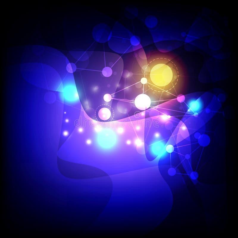 Download Kolorowy Koszowy Abstrakcjonistyczny Tło Ilustracja Wektor - Obraz: 33960492