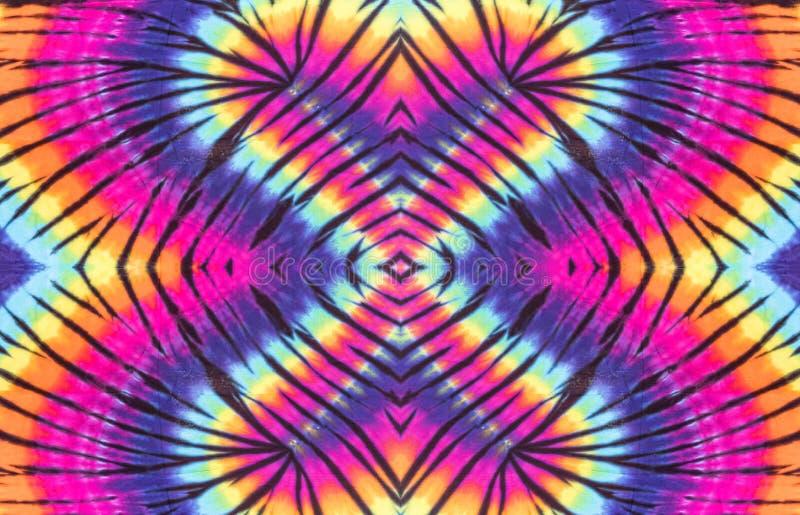 Kolorowy krawata barwidła spirali wzoru projekt zdjęcia stock