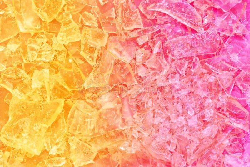 Kolorowy krystaliczny bachground obraz royalty free