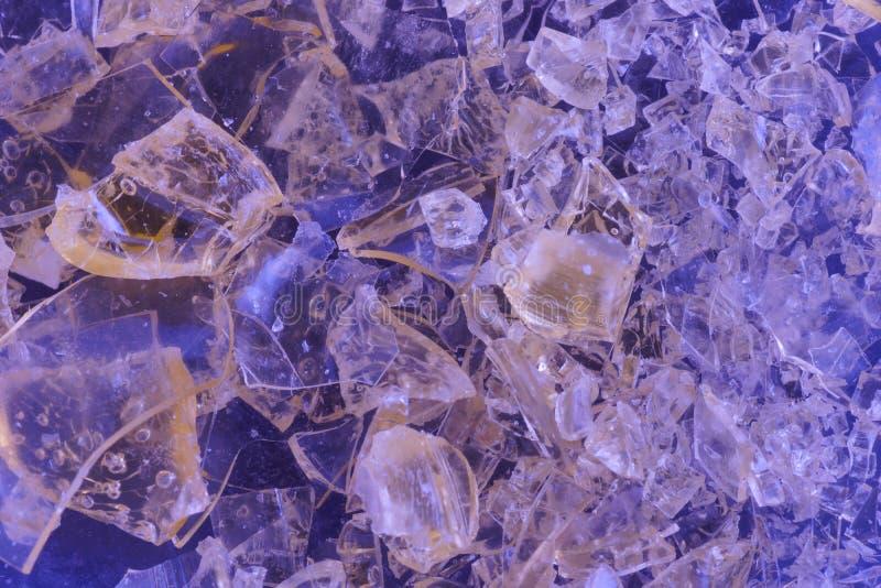 Kolorowy krystaliczny bachground zdjęcie stock