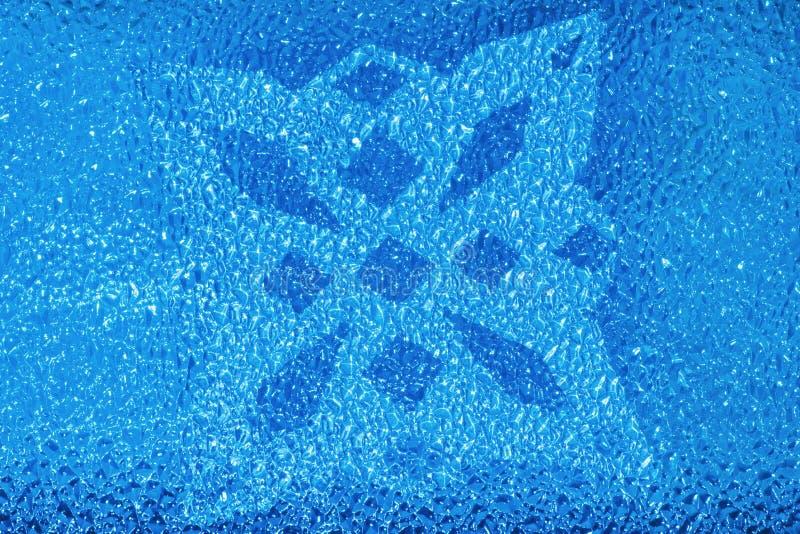 Kolorowy krystaliczny bachground zdjęcia stock