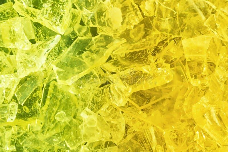 Kolorowy krystaliczny tło obrazy royalty free
