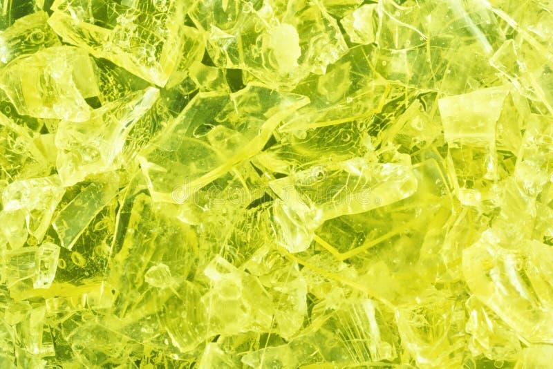 Kolorowy krystaliczny tło obraz royalty free