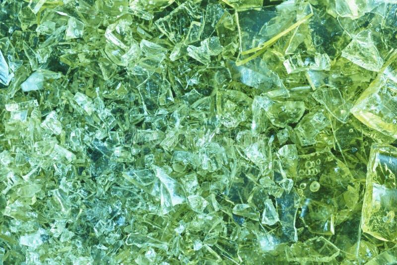 Kolorowy krystaliczny tło fotografia stock