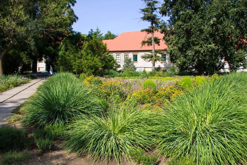 kolorowy kształtujący teren formalny ogród zdjęcia royalty free