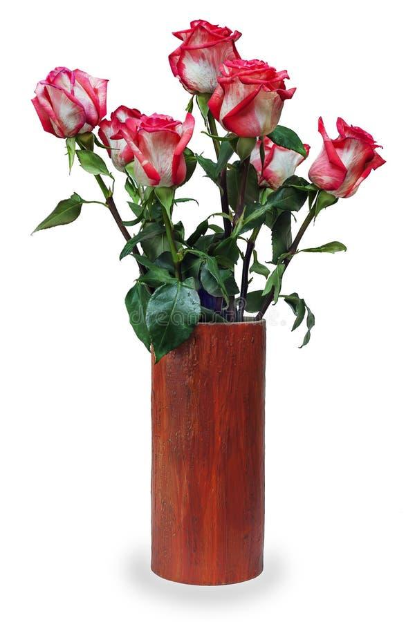 Kolorowy kwiatu bukiet od róży przygotowania centerpiece obraz royalty free