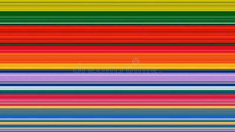 Kolorowy lampasa abstrakta tło; nadużyty piksla skutek ilustracji