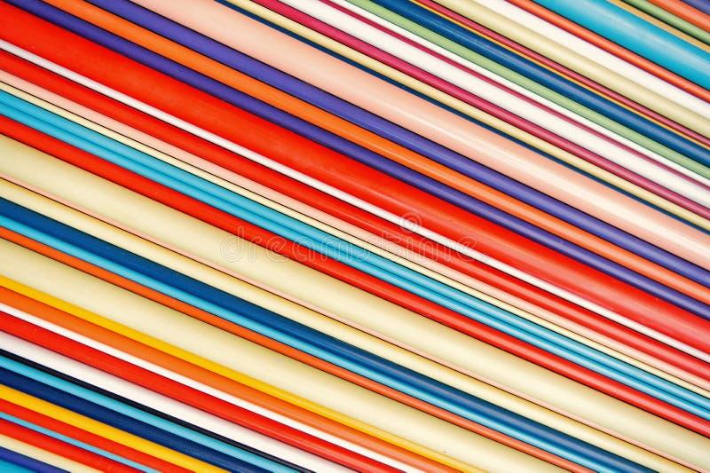 Kolorowy linii abstrakcjonistycznej sztuki tło fotografia stock