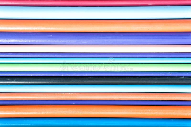 Kolorowy linii abstrakcjonistycznej sztuki t?o obraz royalty free