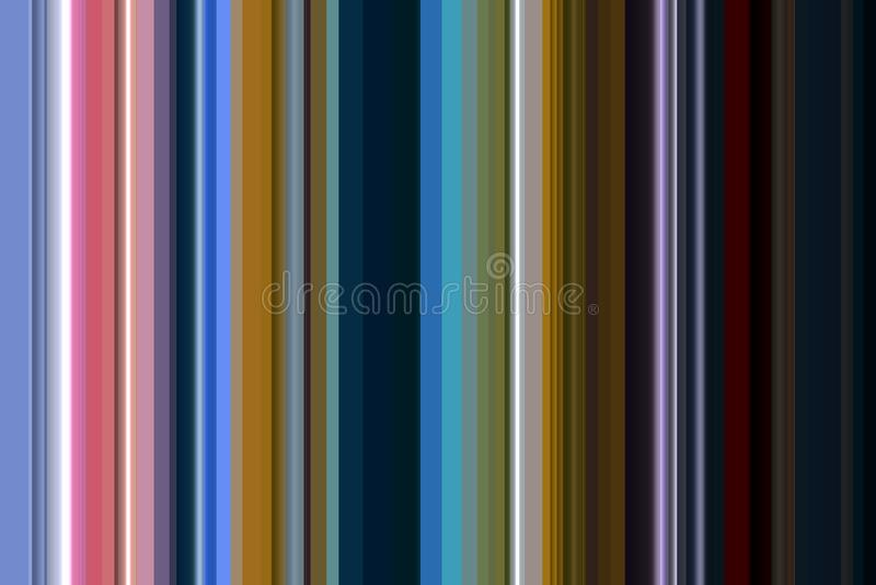 Kolorowy linii i kontrastów kształtów tło w pastelowych odcieniach ilustracji