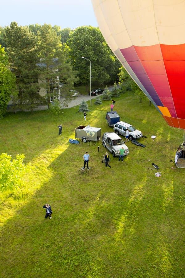 Kolorowy Lotniczy Baloon fotografia stock