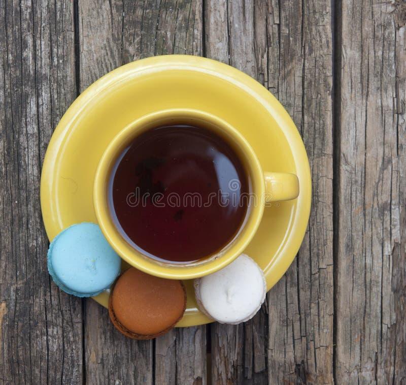 Kolorowy macaroon zdjęcia stock