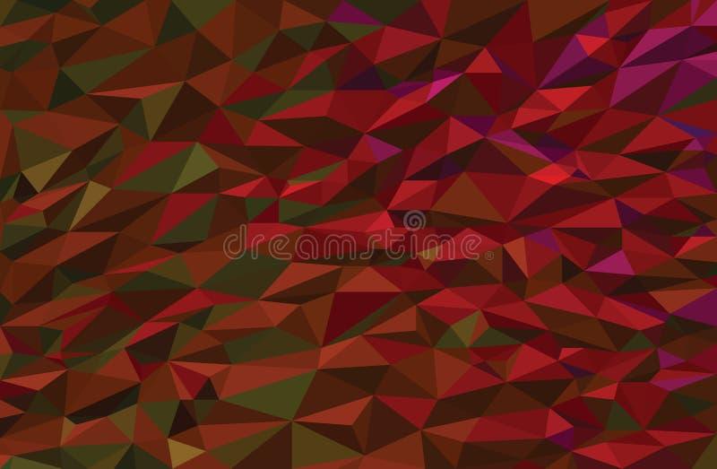 Kolorowy niski poli- wektorowy tło fotografia royalty free