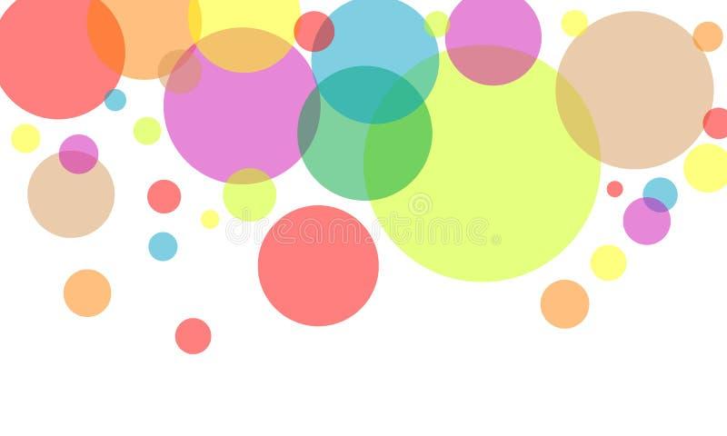 Kolorowy okrąg obraz stock