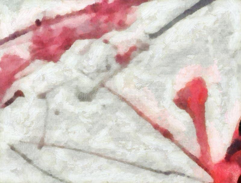 Kolorowy oleju i akwareli tło dla tworzyć unikalnych produkty i dekoruje oryginalnych druki Szorstki piękny wzór grunge royalty ilustracja