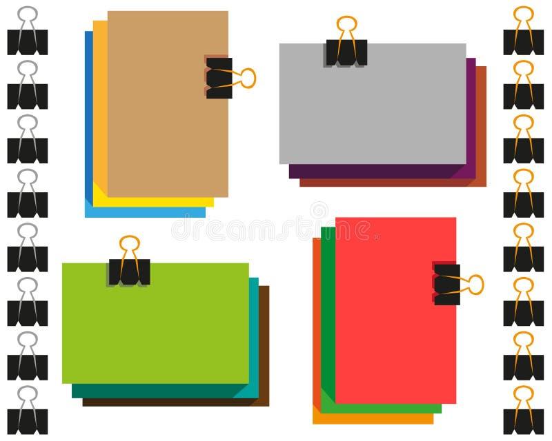 kolorowy papier ilustracji