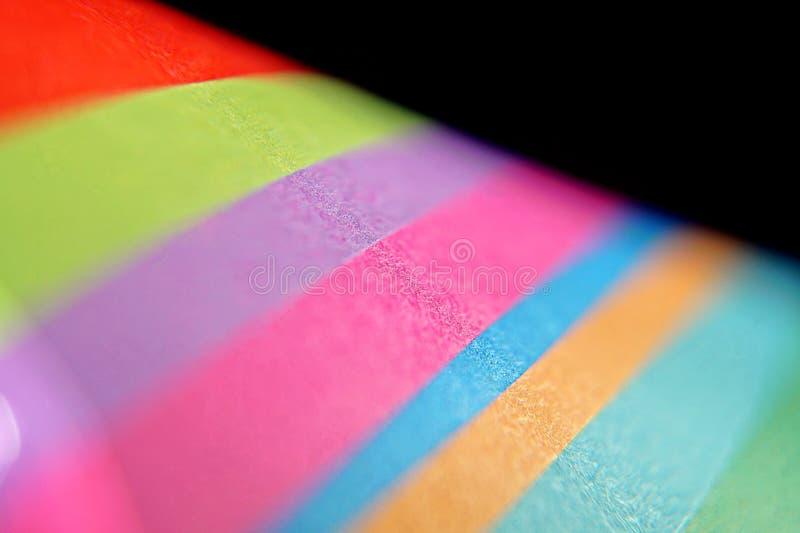 Kolorowy papierowy pomysłowo i abstrakcjonistyczny tło obrazy royalty free