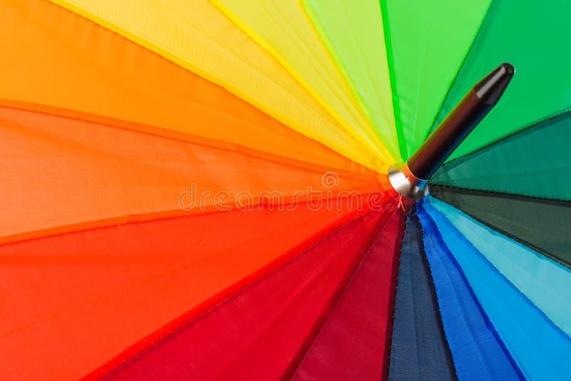 Kolorowy parasol - fashon tło zdjęcie royalty free