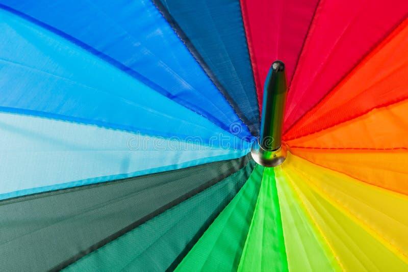 Kolorowy parasol - fashon tło zdjęcia royalty free