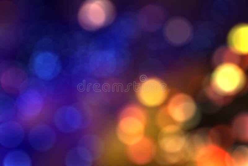 Kolorowy plamy bokeh tło fotografia royalty free