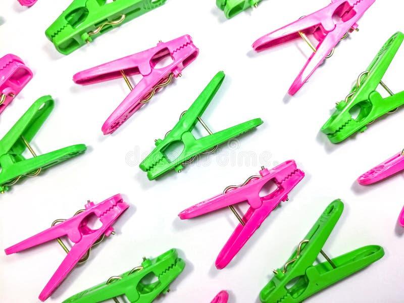 Kolorowy plastikowy sukienny kahat zdjęcie stock