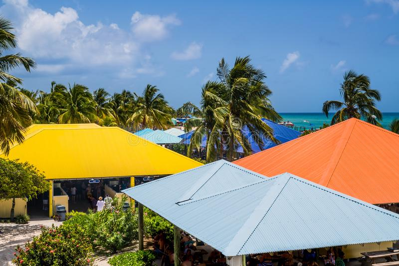 Kolorowy Princess Cays obrazy stock