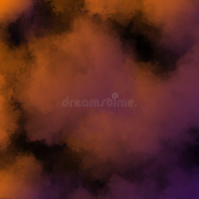 Kolorowy Prochowy tło, Kolorowe chmury zdjęcia royalty free