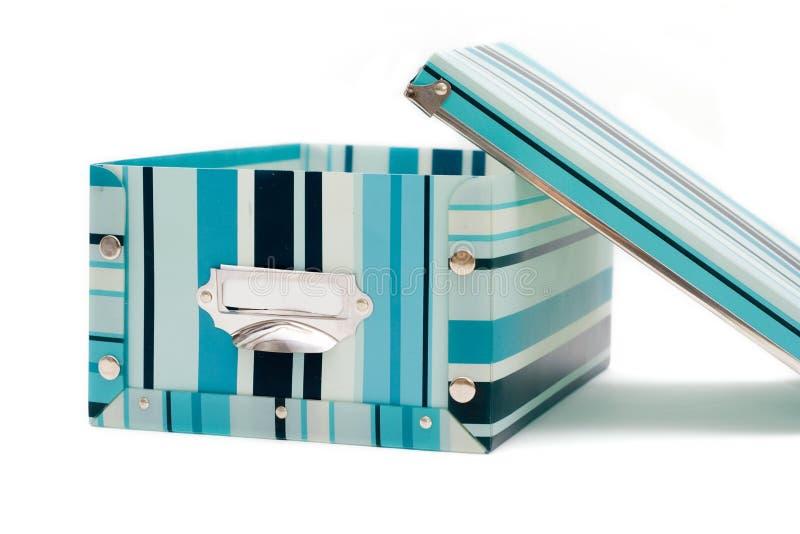 Kolorowy pudełko zdjęcie royalty free