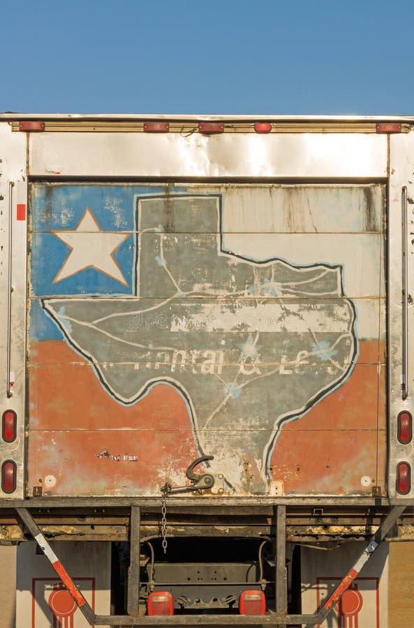 Kolorowy pudełko ciężarówki tylne drzwi II obraz royalty free