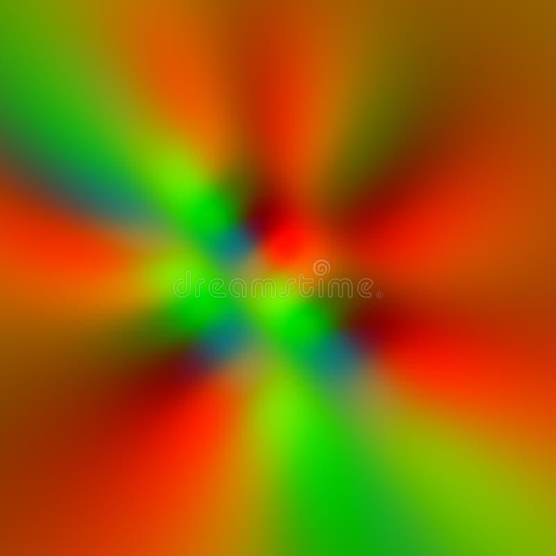 Kolorowy rozmyty piksla tło Czerwoni kolory Osnowowa przejażdżka Wiatrowy przód tło plama zamazywał chwyta frisbee doskakiwania r ilustracja wektor