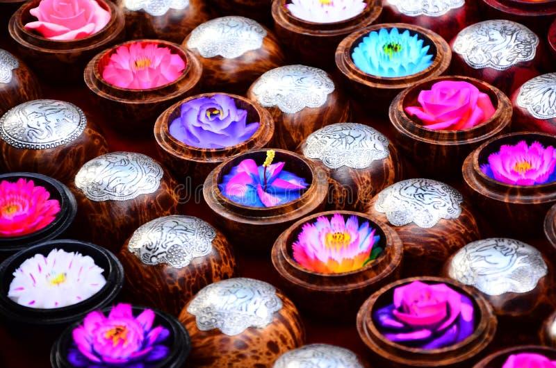 Kolorowy Rzeźbiący mydło obrazy stock