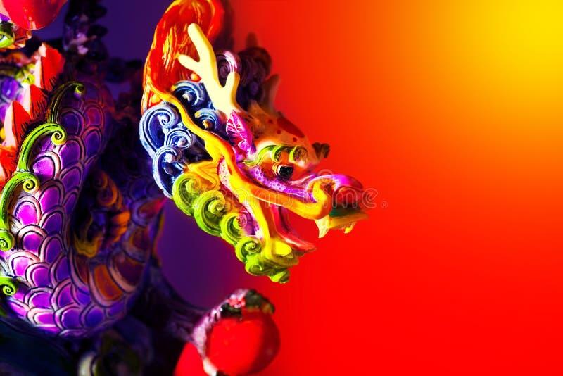 kolorowy smok zdjęcia royalty free