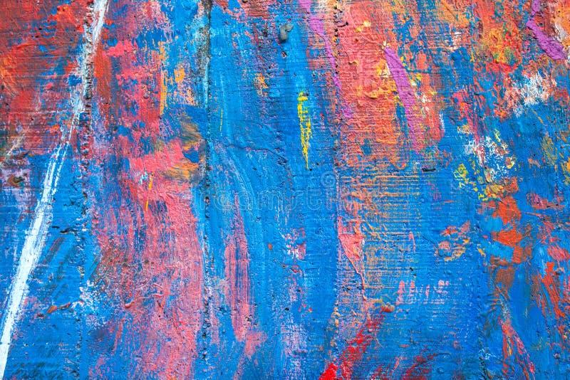 Kolorowy stara cement ściana zdjęcia stock