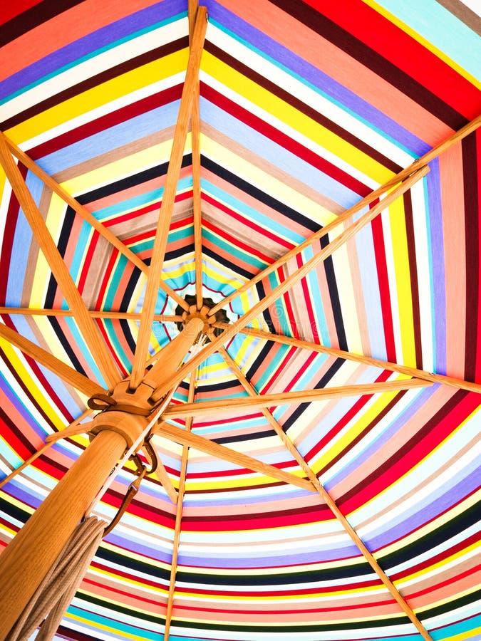 Kolorowy sunshade obrazy royalty free