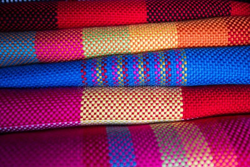 Kolorowy szalik obrazy royalty free