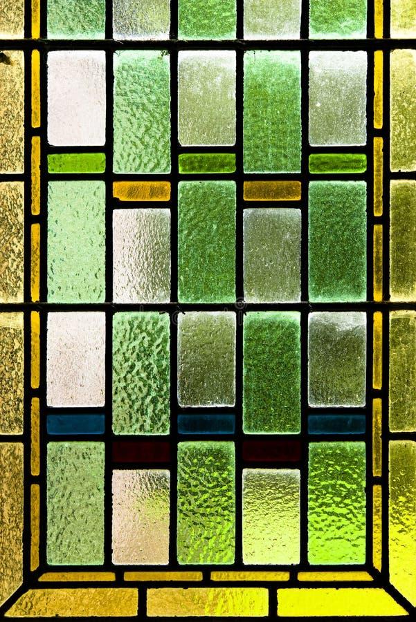 kolorowy szkło plamił zdjęcie stock