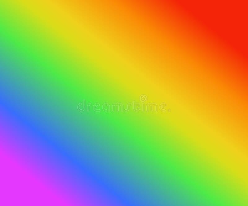 Kolorowy tęczy tekstury tło gradientów kolory, wektorowa ilustracja, podążać LGBT dumy flaga, EPS10 royalty ilustracja