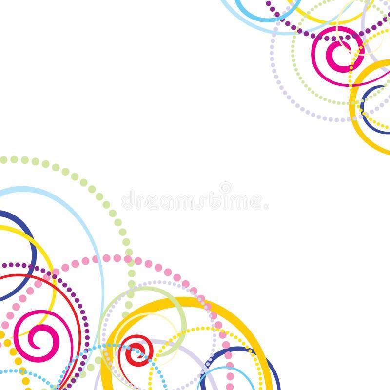 kolorowy tła abstrakcjonistyczny świętowanie ilustracja wektor