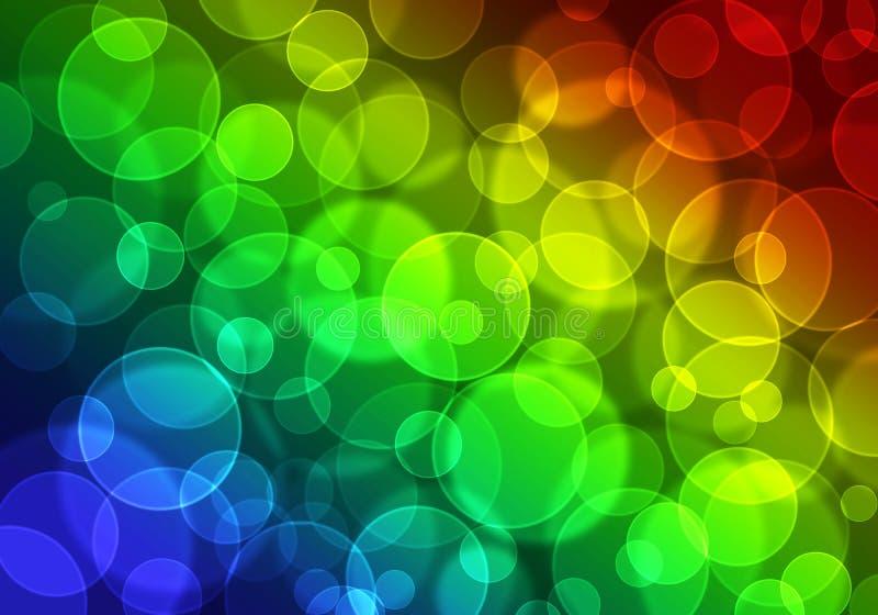 kolorowy tła bokeh zdjęcia royalty free