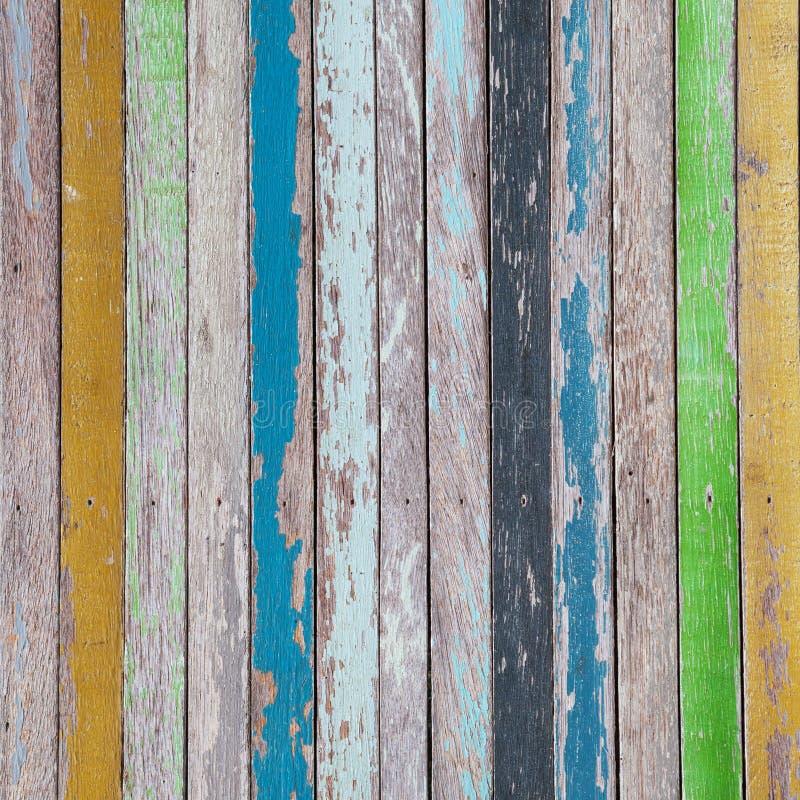 kolorowy tła drewno zdjęcie royalty free