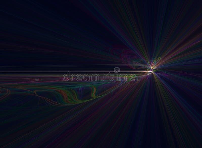 kolorowy tła fractal ilustracji